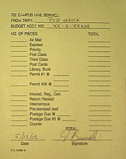 PO Form 15